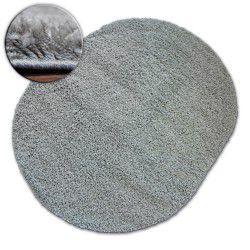 Teppich oval SHAGGY GALAXY 9000 grau