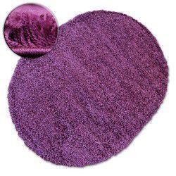 Teppich oval SHAGGY GALAXY 9000 violett