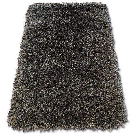 Teppich LOVE SHAGGY Modell 93600 schwarz/braun