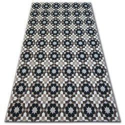 Teppich LISBOA 27206/875 Blumen Schwarz