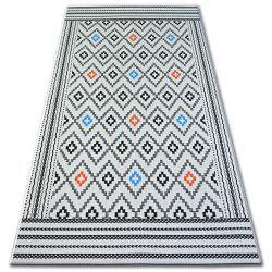 Teppich COLOR 19315/836  Diamanten Weiß