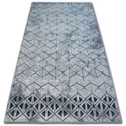 Teppich Wolle SPLENDOR BATEJA hellgrau