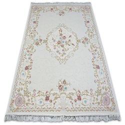 Teppich ACRYL MIRADA 0140 Sahne/Pembe Franse