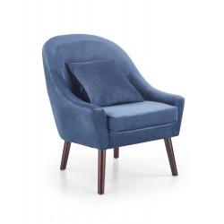 Der Stuhl OPALE dunkel blau