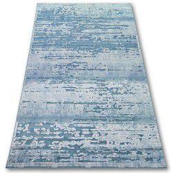 Teppich ACRYL YAZZ 3520 CLOUDS Blau / Creme