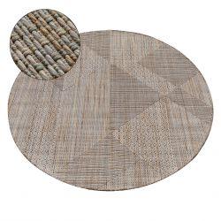Teppich NATURE Kreis SL110 beige SIZAL BOHO