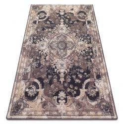 Teppich Wolle Kerman Mela Sand
