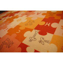 Teppichboden PUZZLE orange