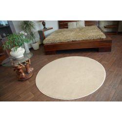 Teppich kreis ULTRA beige
