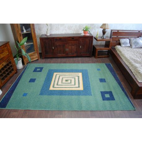 Teppich WEL-HIT SPIRALA grün