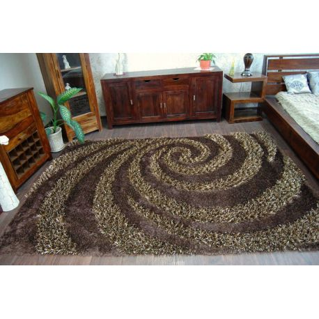 Teppich SHAGGY MYSTERY 315 braun