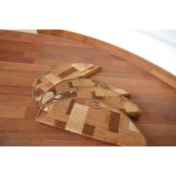 Treppenteppich AMALIA braun