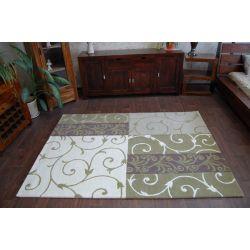 Teppich HAND TUFTED - SURAVI P06 grün