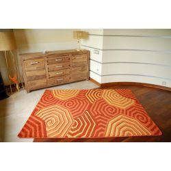 Teppich RUBIKON 8581 orange