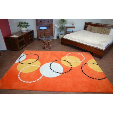 Teppich acryl PIŁKI orange