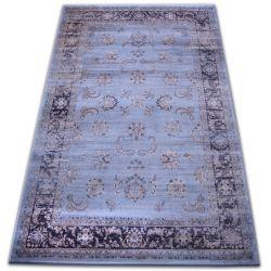Teppich heat-set Jasmin 8628 blau
