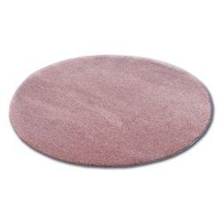 Teppich Kreis SHAGGY MICRO rosa