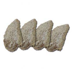 Treppenteppich NARIN dunkelbeige