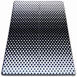 Teppich SKETCH - F762 weiß/schwarz - dots