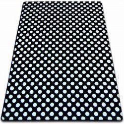 Teppich SKETCH - F764 weiß/schwarz - dots