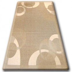 TEPPICH SISAL FLOORLUX 20078 coffee / mais