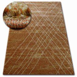 Teppich SHADOW 9367 rost / Gold
