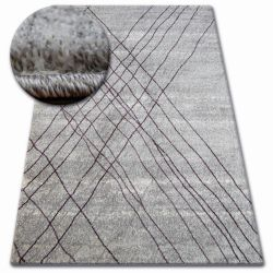 Teppich SHADOW 9367 grau / Flieder