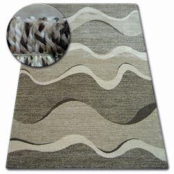 Teppich SHADOW 8649 braun / hellbeige